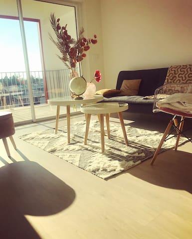 Appartement Neuf à Obernai, terrasse exposée sud *