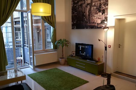 Luxury spacious loft near city center - Brüssel