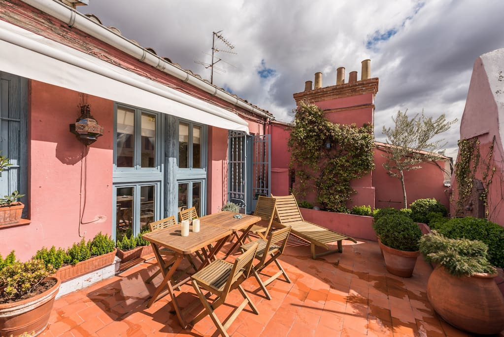 The sibarist garden penthouse departamentos en alquiler - The penthouse madrid ...
