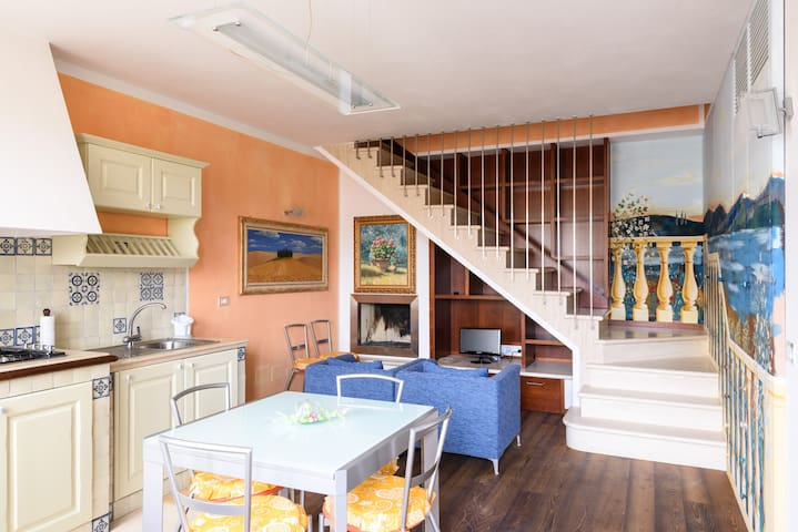 Nuovo e confortevole appartamento in Val d'Orcia