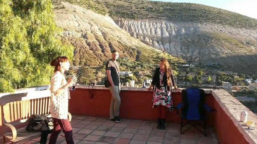 Rustique Townhouse With Great View! - Real de Catorce - Rumah