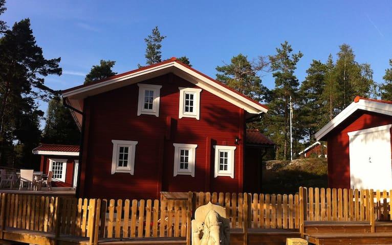 Lovely timber house in the Stockholm Archipelago - Värmdö SV - Cabana