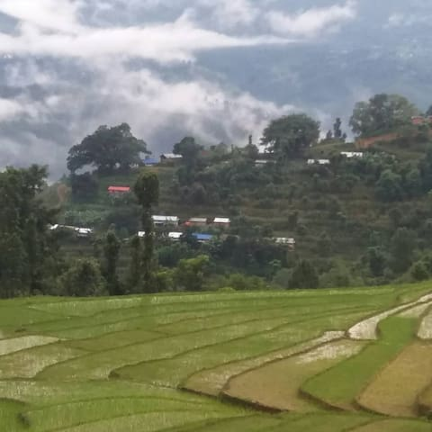 Landscape view from Saping village
