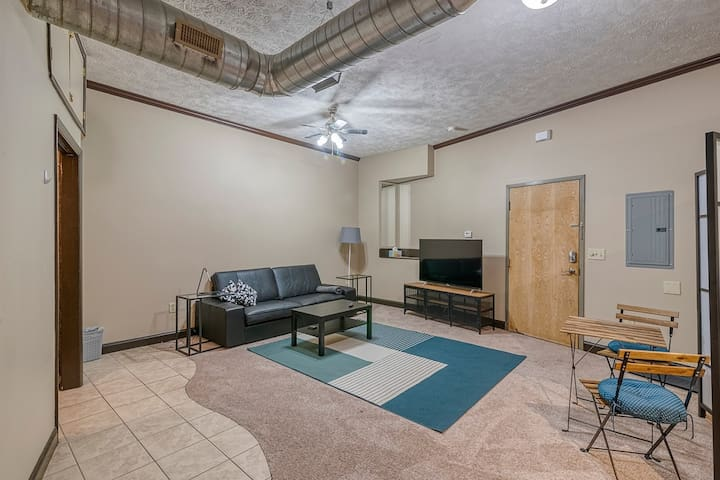 Large Studio Steps from Capitol & Conv. Center!