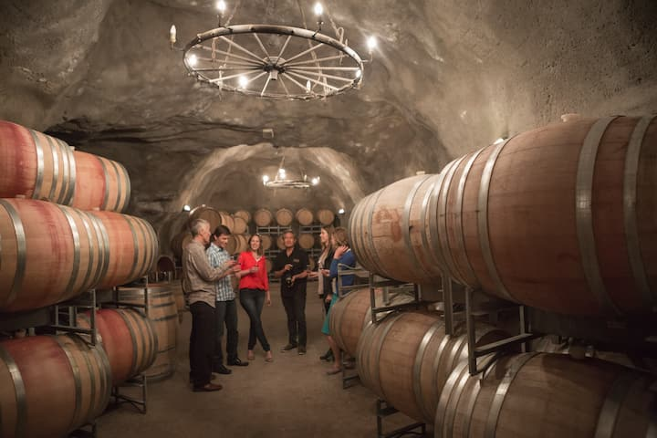 NZ's largest underground wine cave