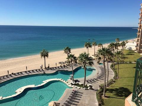 3 Bed Sonoran sea  308e Sleeps 8 Border-Beach Open