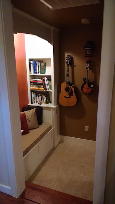 Small Library Nook