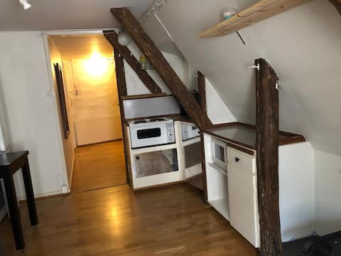 Simple studio apartment with amazing location