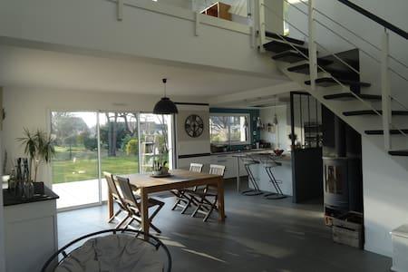 Maison St André    8 pers. - Saint-André-des-Eaux