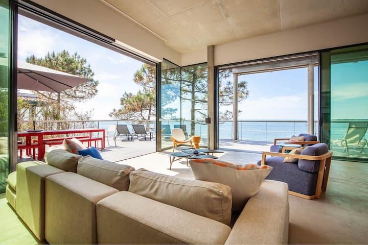 Villa exceptionnelle en 1ère ligne Pyla sur Mer