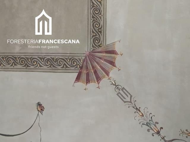 Foresteria Francescana, your balcony over the city