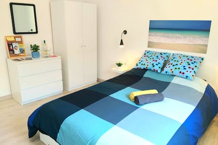 BLU ROOM: bright and spacious double room