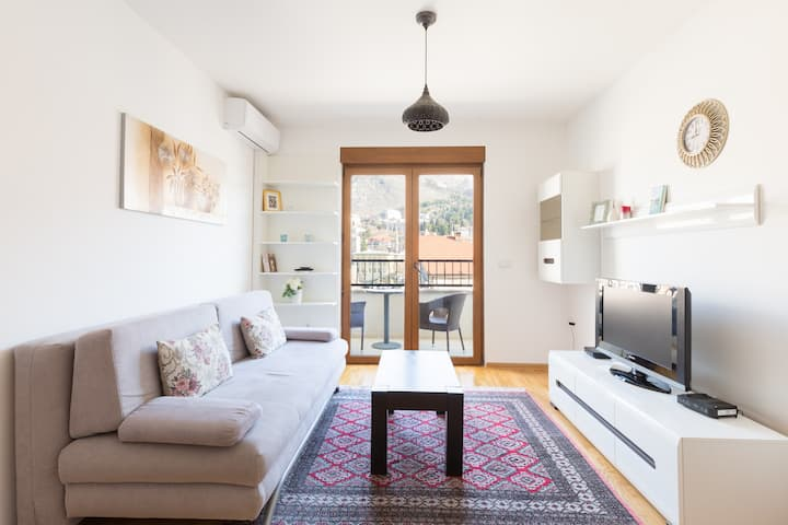 Apartment with Old Bridge View+BALCONY+GARAGE.
