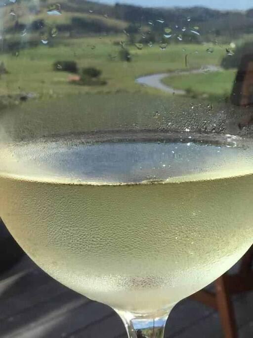 Perhaps enjoy a glass of wine...