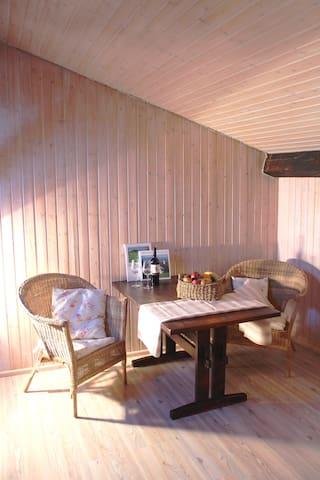 Rustikale Wohnung auf dem Bauernhof - Miesbach - Apartment