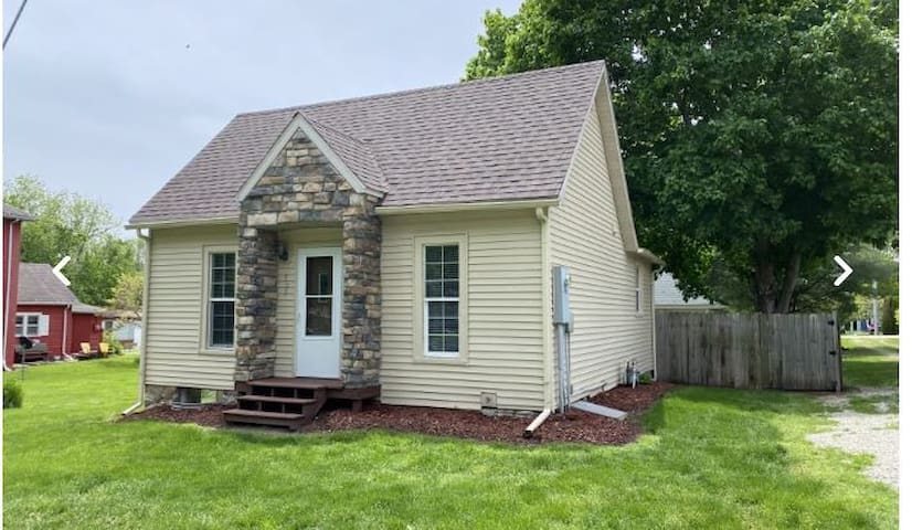 Charming One Bedroom home in downtown Keosauqua