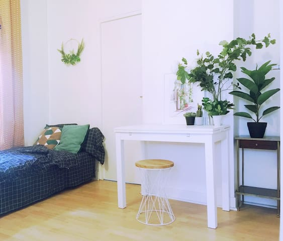 Cosy shared studio in bourgeois Parisian district!