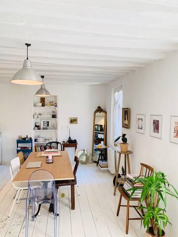Cuisine et salle à manger (1er étage)