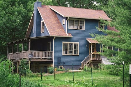 Cozy APT on Organic Farm in Woods   - Bloomington - House
