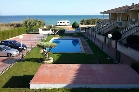 Great apartment in front of the sea - Les Cases d Alcanar (Alcanar) - Apartamento