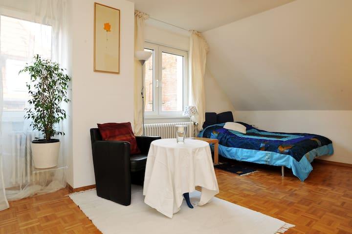 Private , sunny , modern , cosy