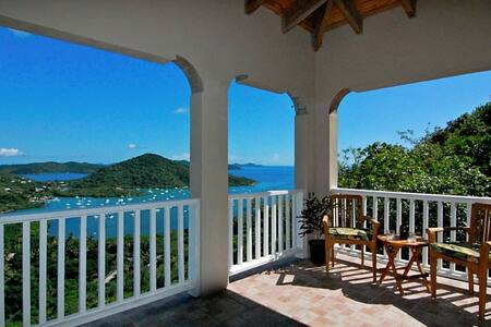 Chincherry Villa in Paradise!! - Coral Bay - Hus