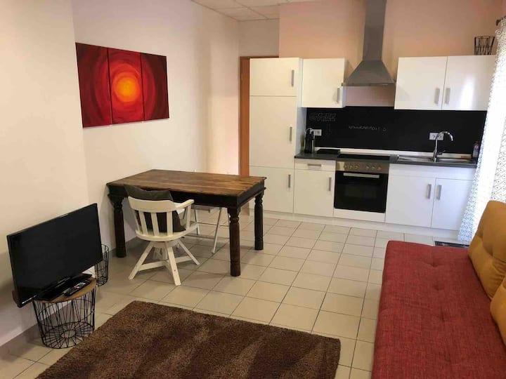 1-Zimmer-Stadtapartment mit Küche, Bad, Terrasse