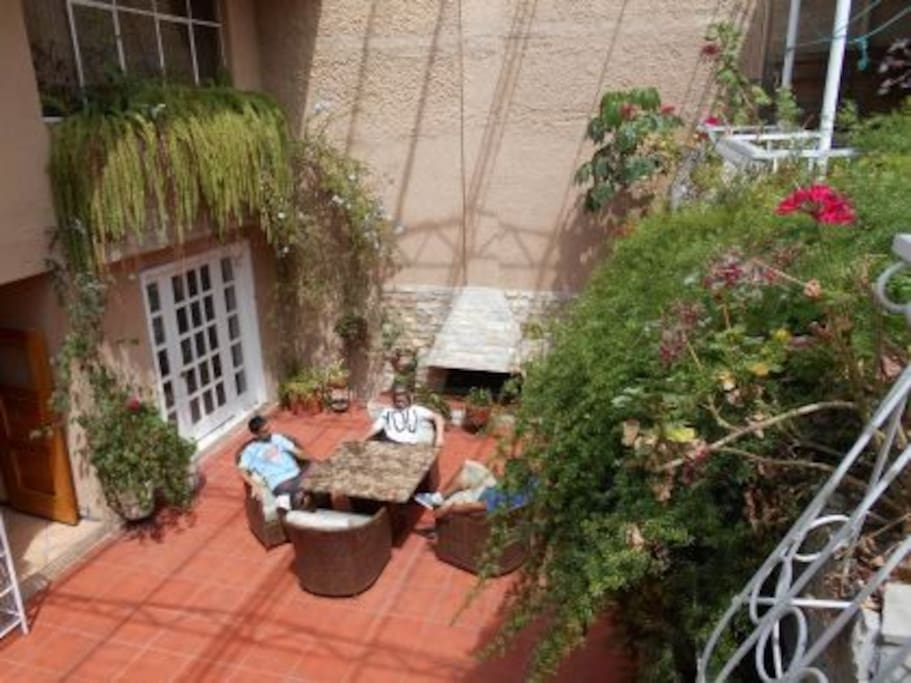 Relax in the Courtyard!