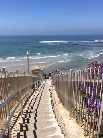 Elegant, quiet Beach Bungalow/apartment - Solana Beach - Bungalow