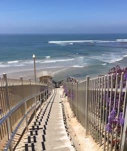 Elegant, quiet Beach Bungalow/apartment - 索拉纳海滩 - 小平房