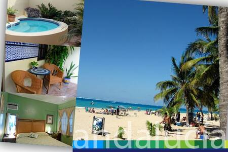 Beach Vacation in Our Private Room!