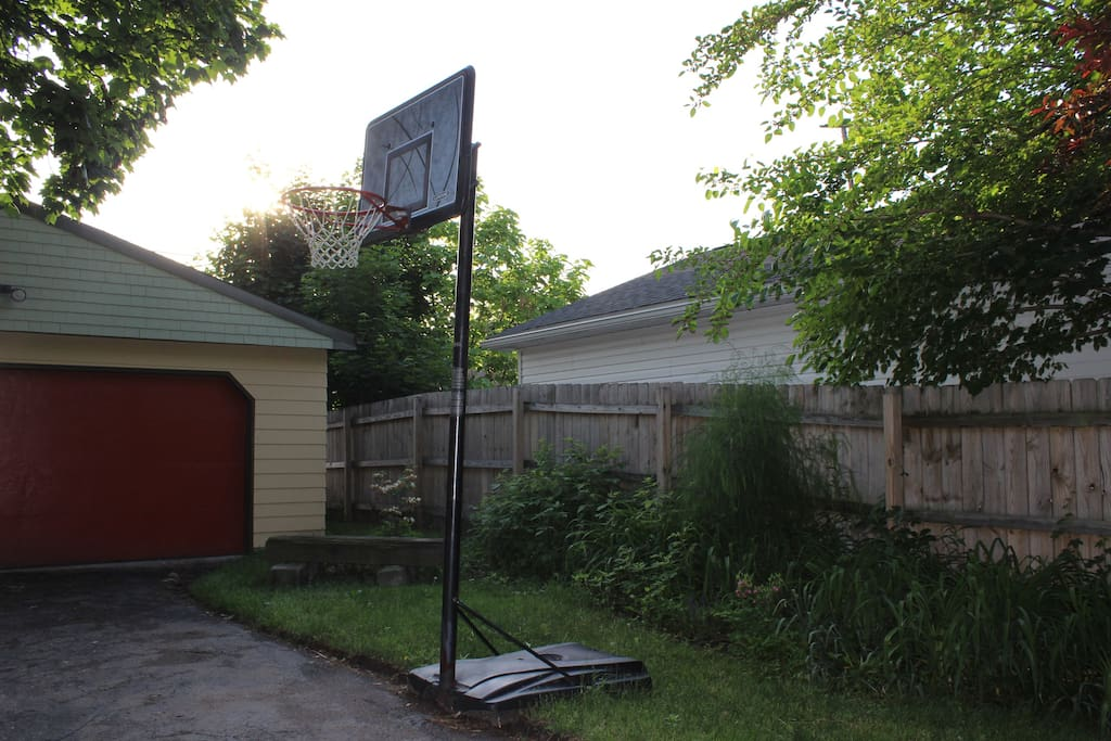 Play a little b-ball to burn off the extra West Side Market pounds.
