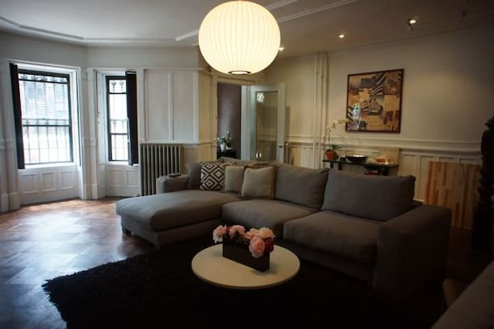 Superhost modern private apt 15min manhattan loft in for Loft new york affitto