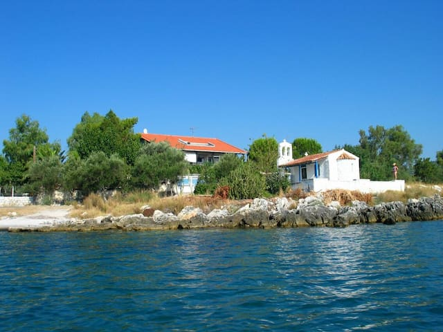 Family house next to the sea