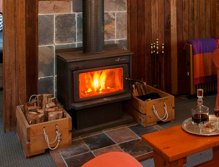 Cosy fireplace for those cold mountain nights