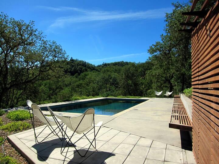 Private Retreat in Mendocino County