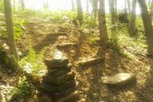 Path to the ridge.