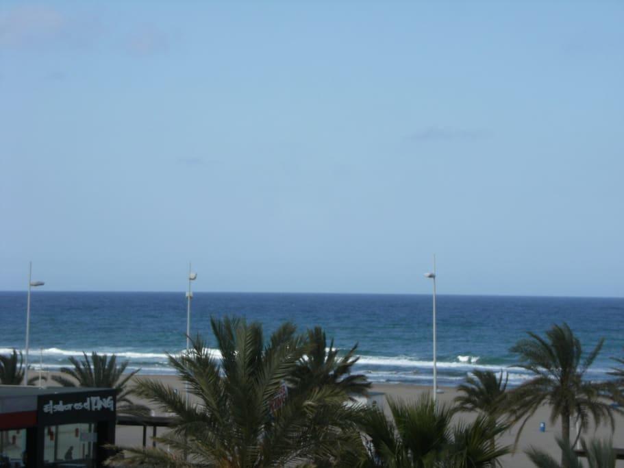 Esta es la vista desde el apartamento¡¡¡¡