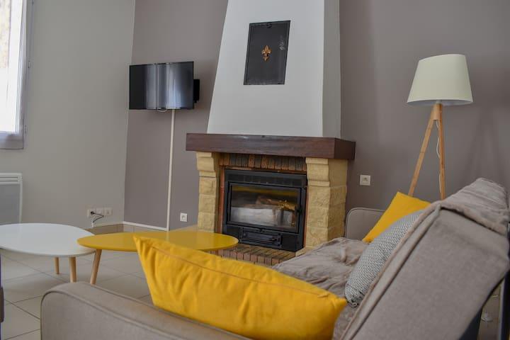 Appartement meublé 80m2 avec terrasse