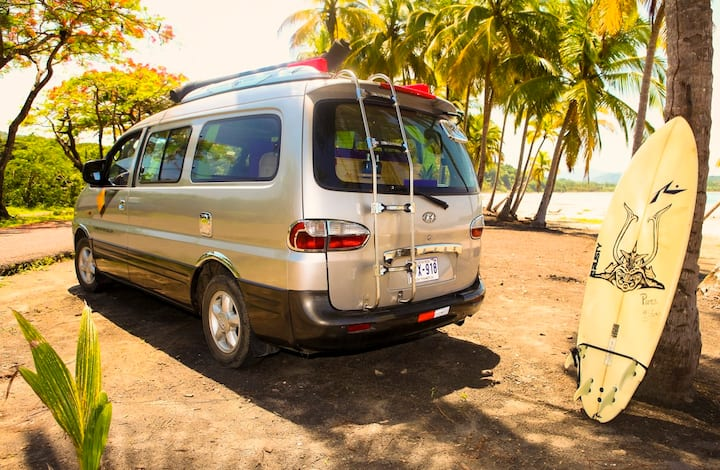 Hire Campervan to travel around Costa Rica