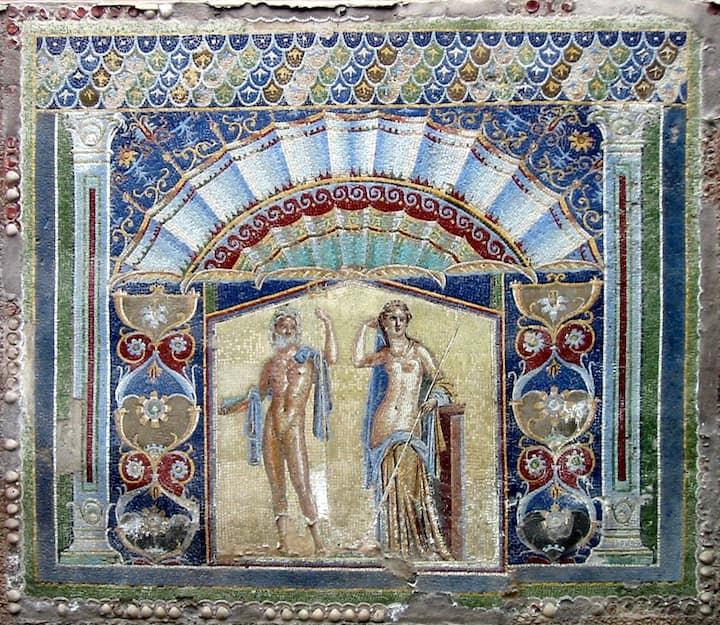 Mosaic of Neptune and Amphitrite in Herc