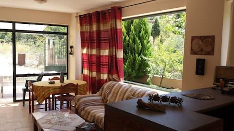 Elatos, Room in  Zaros nature