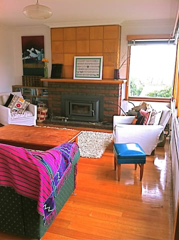 Beautiful views from Cosy Home - West Hobart - Casa