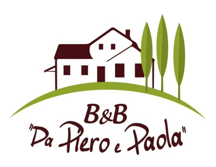 "Logo B&B ""Da Piero e Paola"""