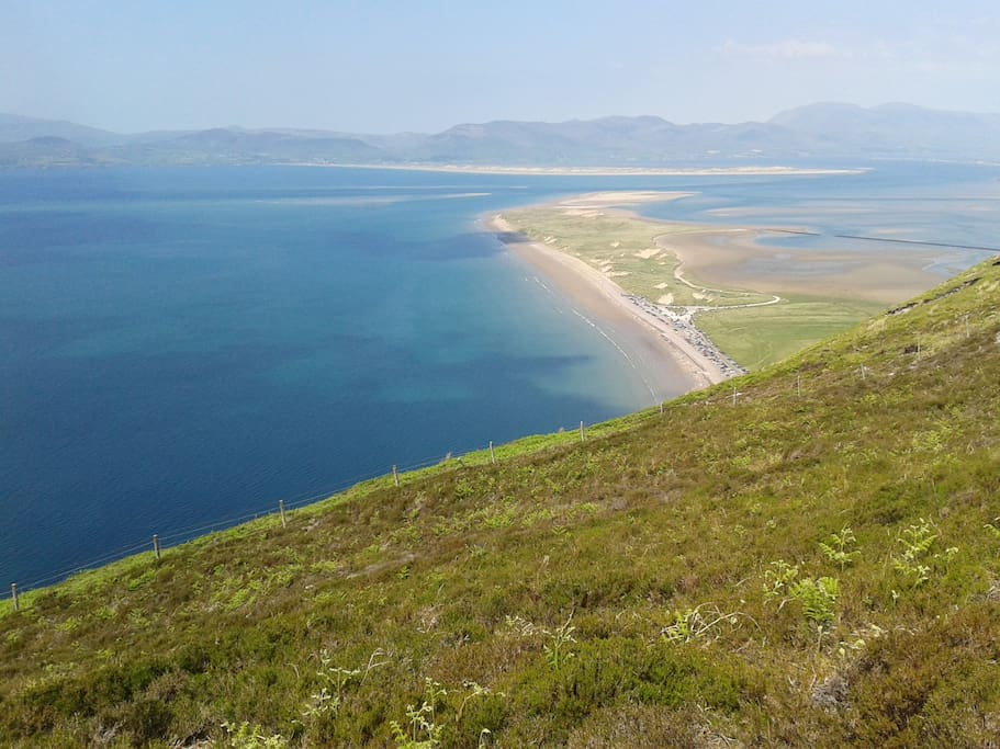The gloriously long Rossbeigh strand.