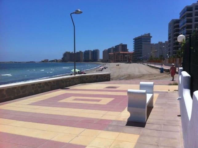 Primera linea playa La Manga Murcia - san javier - Leilighet