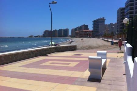 Primera linea playa La Manga Murcia - san javier - 公寓