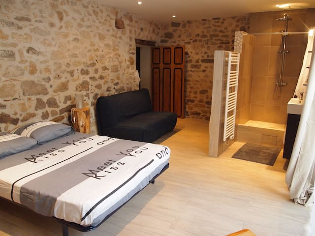 Bel appartement 60m2 Hérault - Aspiran - Apartament