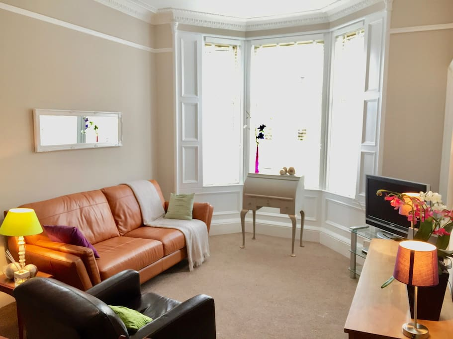 Relax and unwind in the comfortable sitting room