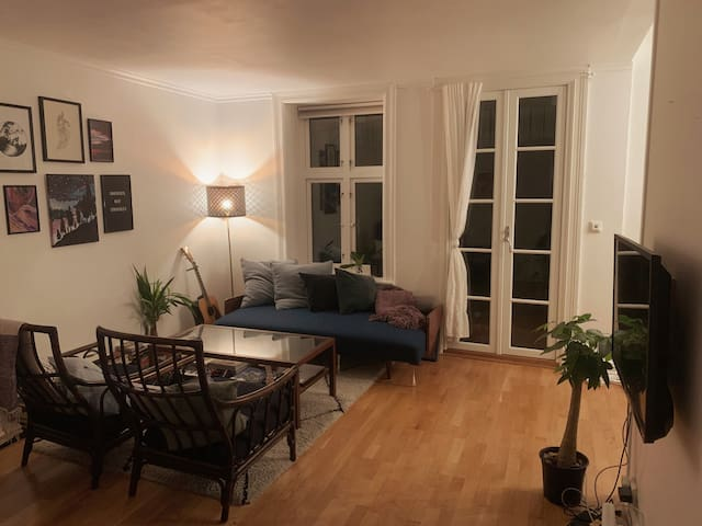 Cozy apartment in Grünerløkka, near city center